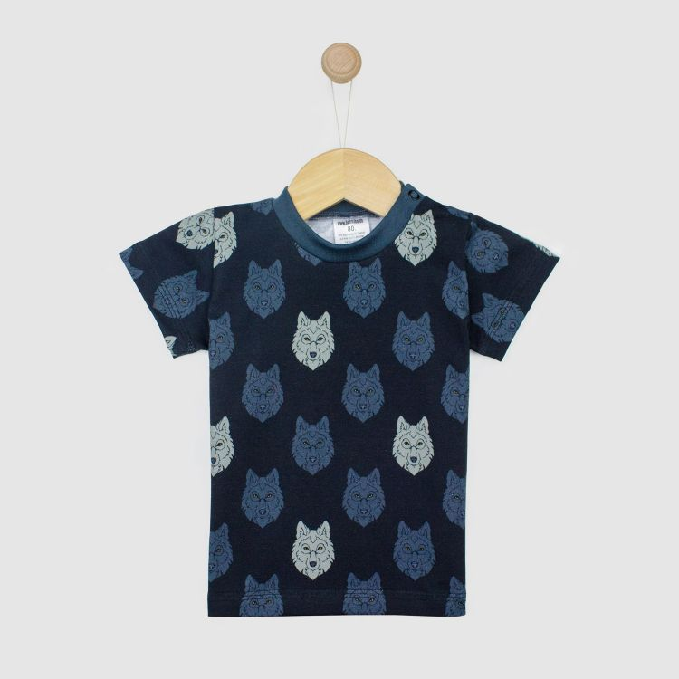 Kids-T-Shirt - BlackWolf