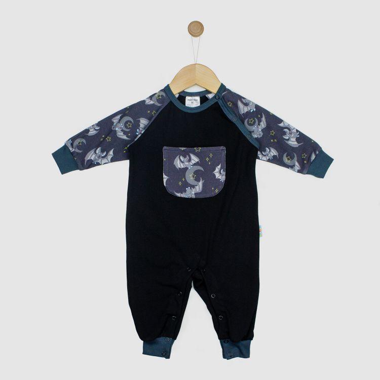 Baby-Raglan-Strampler - DarkBats