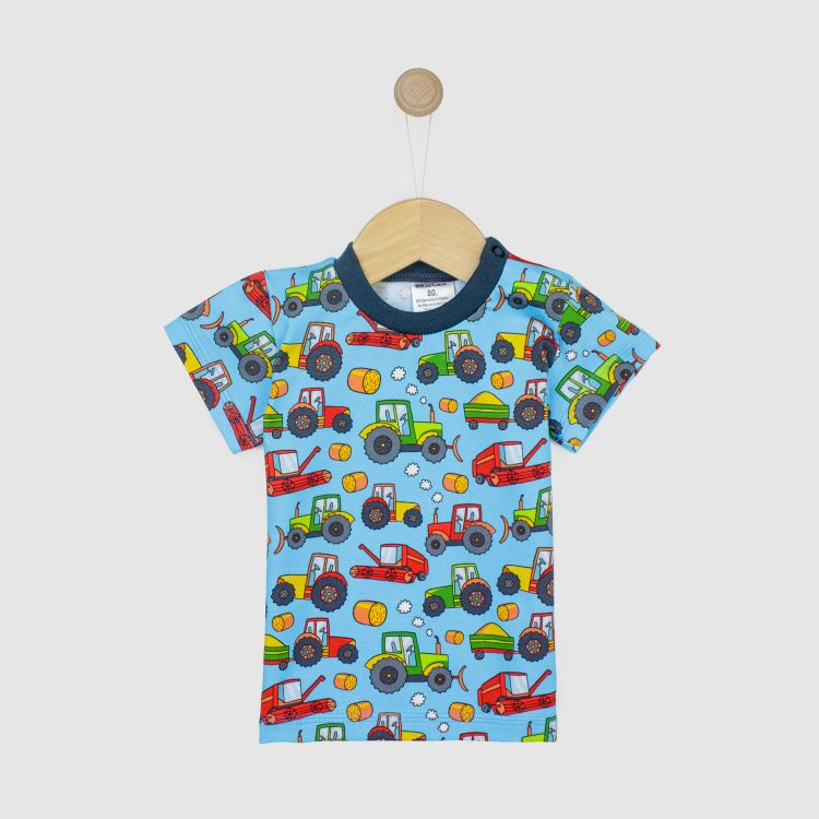 Kids-T-Shirt - BabaubaFarmTractor
