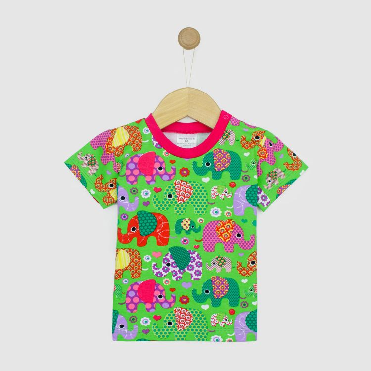Kids-T-Shirt - BabaubaFantiGirl-Green