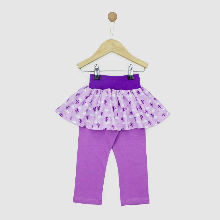 SkinnyPantsRöckchen lang LovelyBalloons-Lavendel