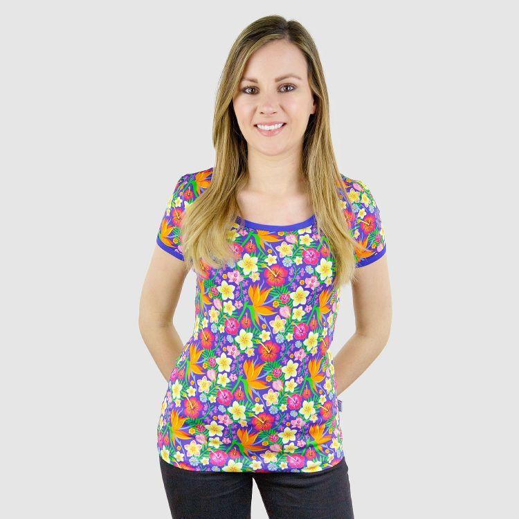 Woman-Shirt HawaiiFlowers