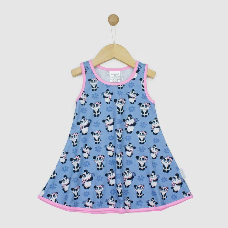 LittleMissSunshine-Dress GirlyPanda-Grey
