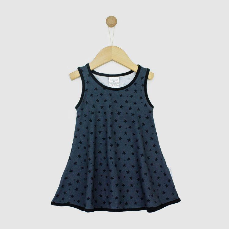 Kids-LittleMissSunshine-Dress - NightSky-Grey