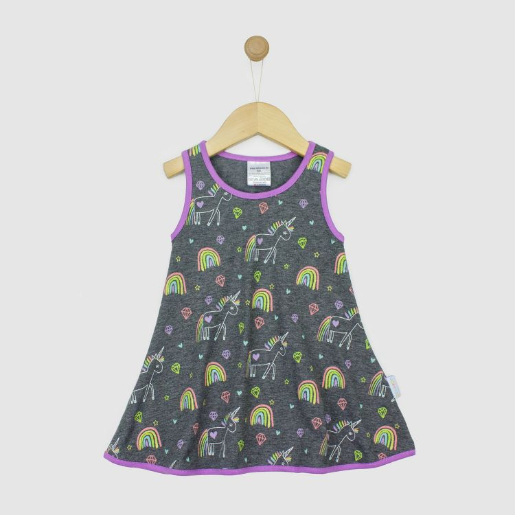 LittleMissSunshine-Dress UnicornArt-Meliert