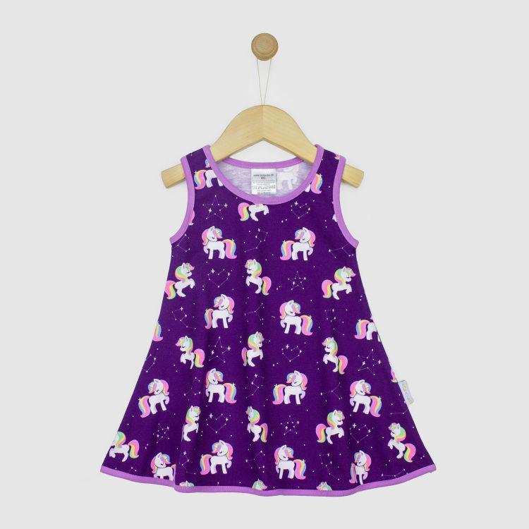 Kids-LittleMissSunshine-Dress - GalaxyUnicorns