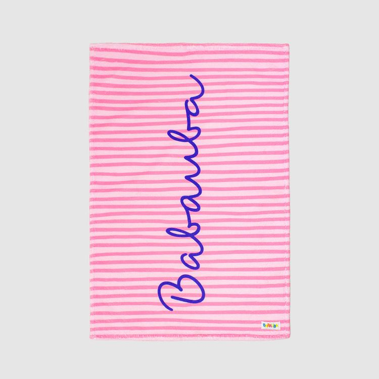 Handtuch Stripes-Pink