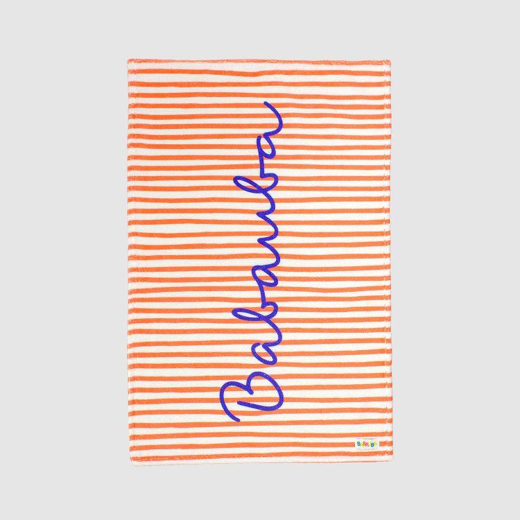 Handtuch Stripes-RedCream