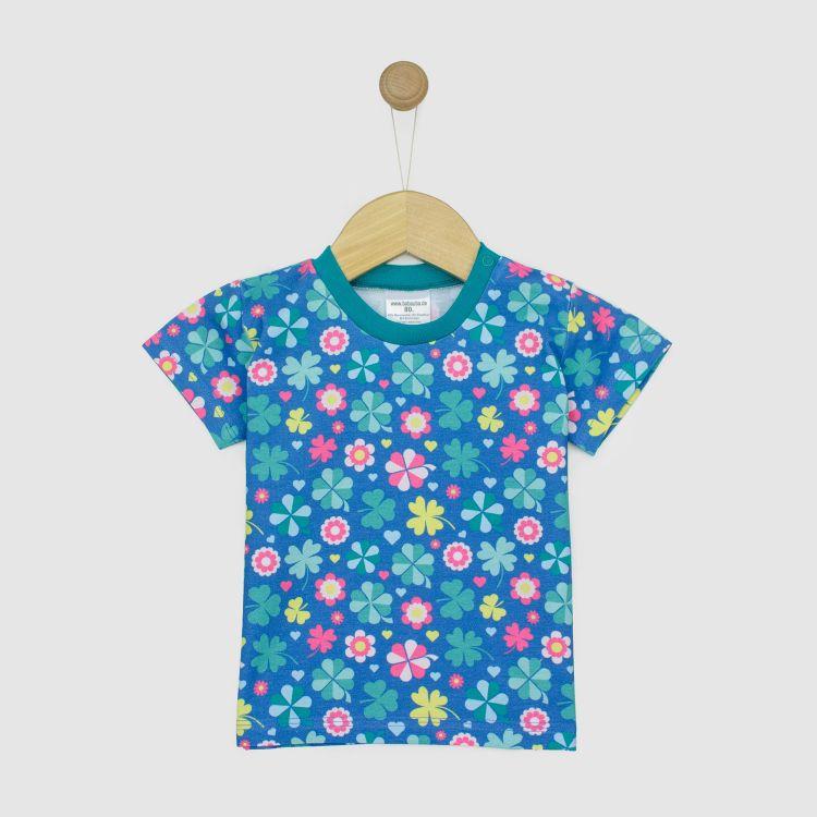 T-Shirt ColorfulCloverLeaves