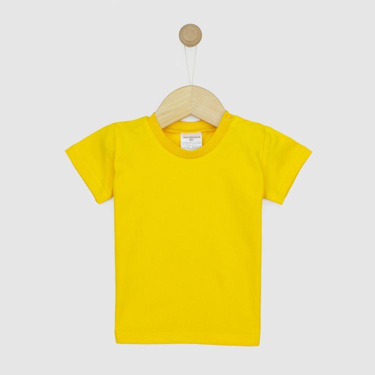 Uni-T-Shirt Zitrone