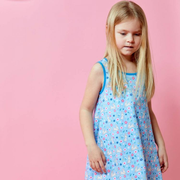 LittleMissSunshine-Dress HoppingBunnies
