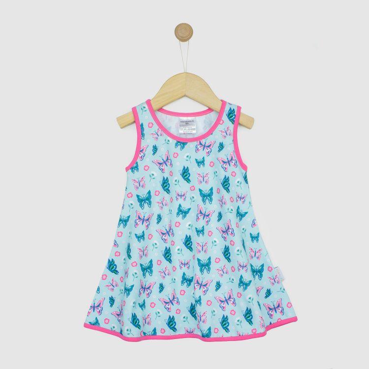 LittleMissSunshine-Dress ButterfliesAndDaisies