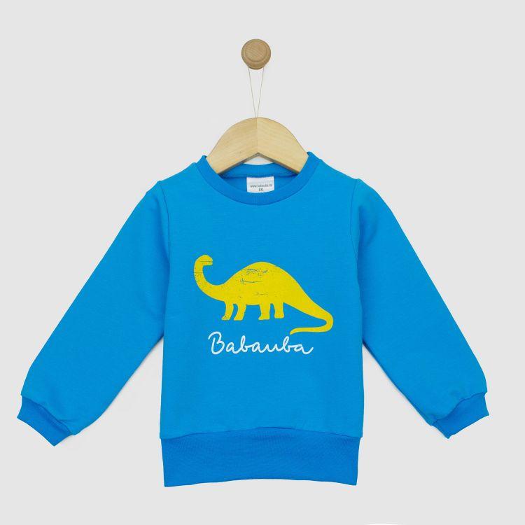 Sweater WildDino-Yellow-Blue