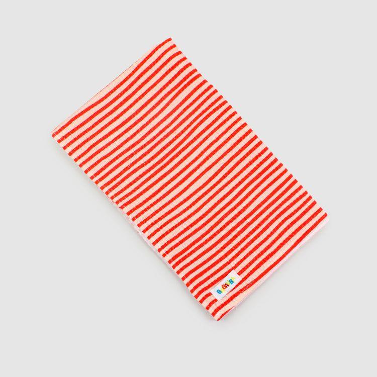 Geschirrtuch - Stripes-RedCream