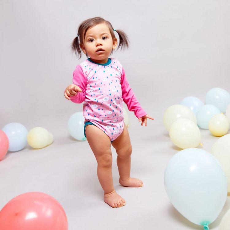 Baby-Langarmbody - SpringClouds