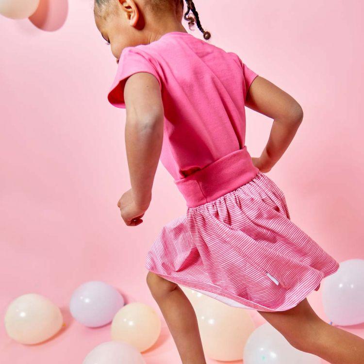 Kids-Röckchen - Stipes-Pink