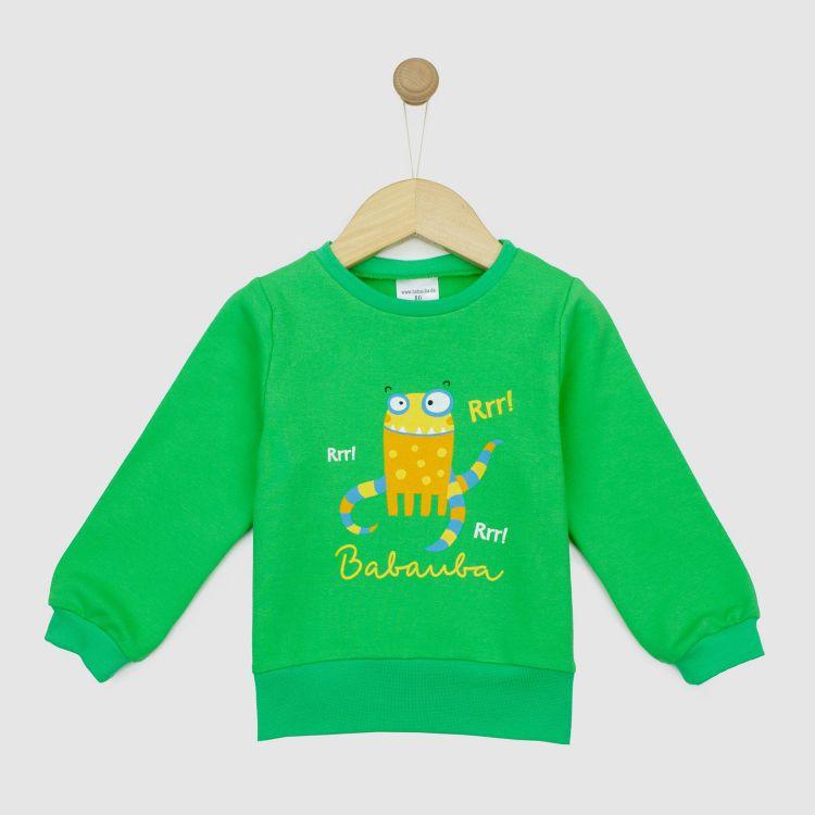 Sweater WorldOfMonsters-Green