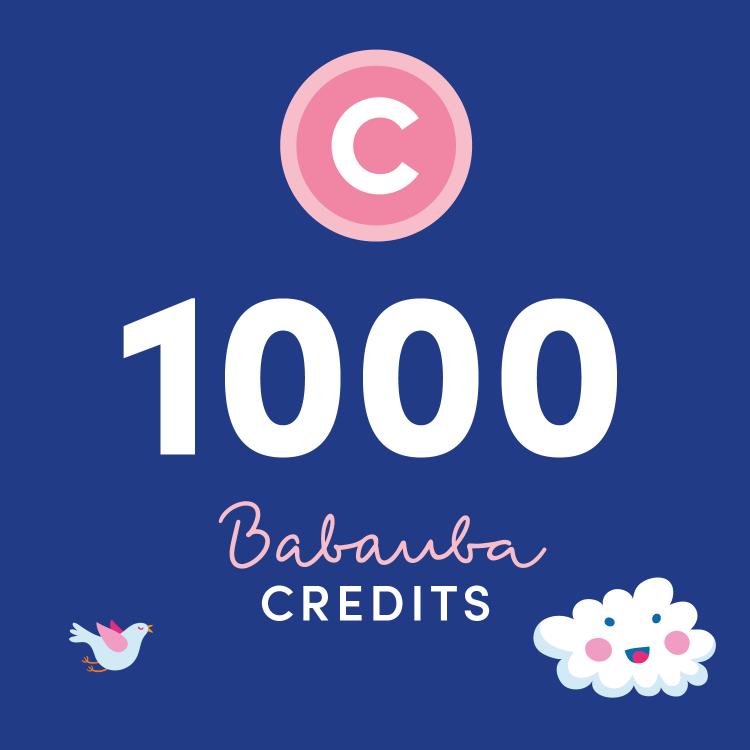 Babauba Credits 1000
