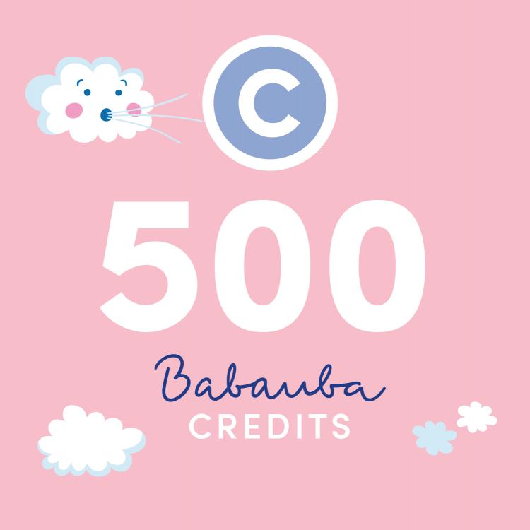 Babauba Credits 500