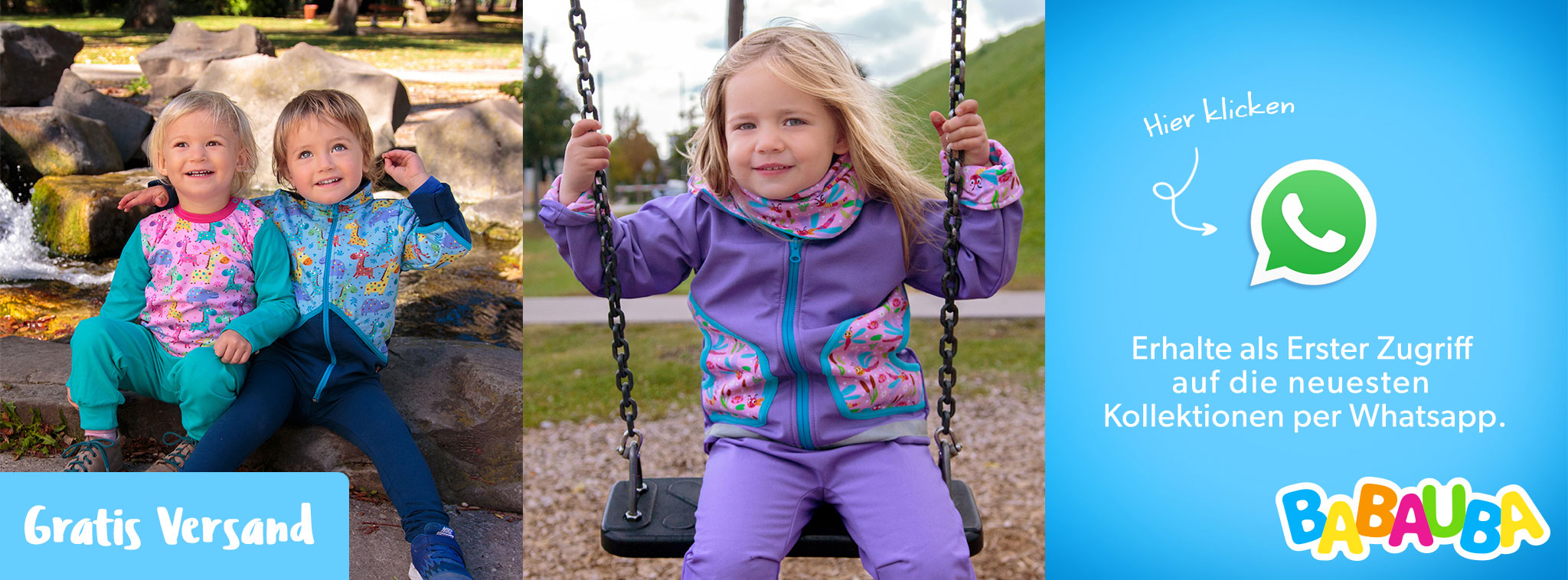 965f5f5fe41c99 Bunte Babymode von Babauba  Kleinkinder- und Babyoutfits online kaufen