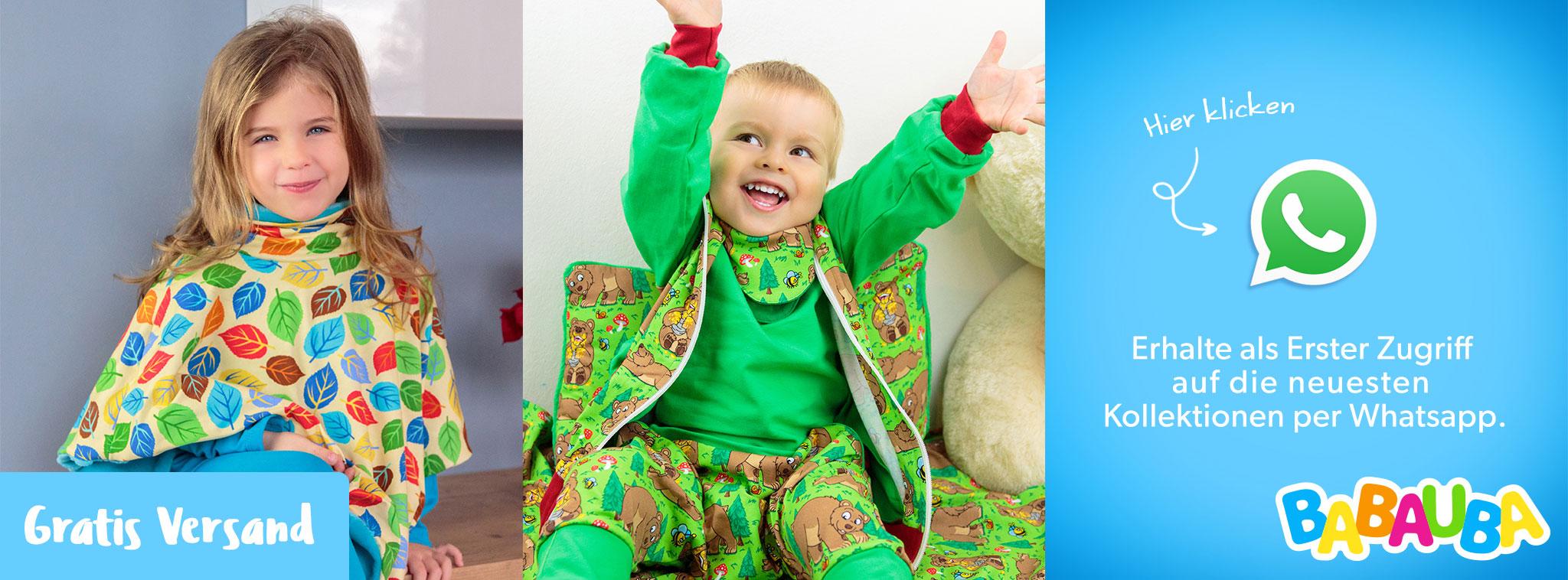 abc6abb149062f Bunte Babymode von Babauba  Kleinkinder- und Babyoutfits online kaufen